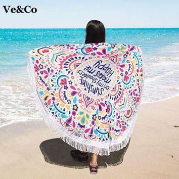 Pareos Beach Cover Ups Summer Floral Print Swimsuit Cover Ups 2018 Cotton Women Cape Beach Swimwear Bathing Suit Cover Ups