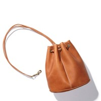 rsalh534 - Leather Drawstring Backpack