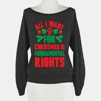 All I Want For Christmas Is Fundamental Rights