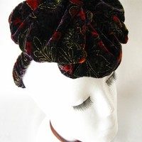 What A Dame Retro Tilt Hat by Mauvely Roses