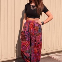 New Womens Hippy Indian Festival Trouser AA1 from revolva