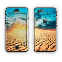 The Sunny Day Desert Apple iPhone 6 Plus LifeProof Nuud Case Skin Set