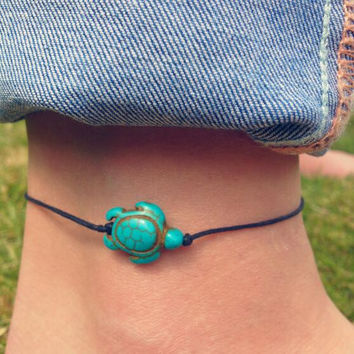 Cute Turtle Anklet