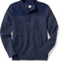 Old Navy Mock Neck Henley Sweater
