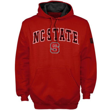 North Carolina State Wolfpack Red Automatic Hoodie Sweatshirt