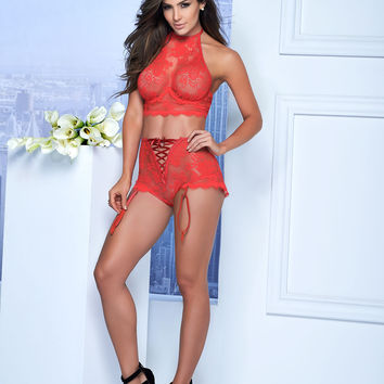 Sexy Two Piece lace Lingerie Set