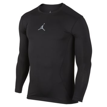 Jordan AJ All Season Compression Long-Sleeve Men's Training Shirt, by Nike