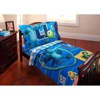 Baby, Childrens, Toddler 4 Piece Bedding Set (Monsters University)