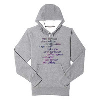 Magcon is Perfection Galaxy Nebula hoodie heppy feed and sizing.