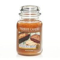 Banana Nut Bread : Large Jar Candles : Yankee Candle