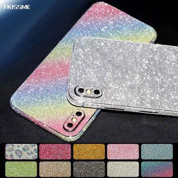 Glitter Sticker Bling Diamond Full Body Protector iPhone