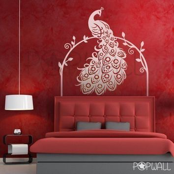 Removable Vinyl Wall Sticker Decal Bird of Paradise by NouWall