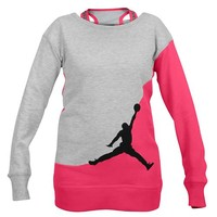 Jordan Jumpman French Terry Top - Girls' Grade School