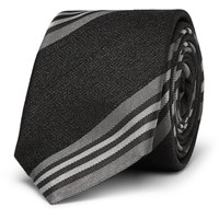 Givenchy - Striped Silk and Wool-Blend Tie   MR PORTER