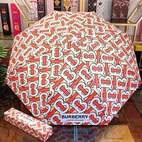 Burberry Summer Fashion New More Letter Print Umbrella