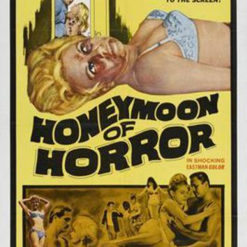 Honeymoon Of Horror Movie Poster 11 inch x 17 inch poster