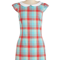 ModCloth Vintage Inspired Mid-length Cap Sleeves