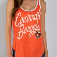 Junk Food Clothing - NFL Cincinnati Bengals Tank - NFL - Collections - Womens