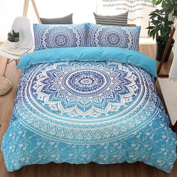 European Lines Bedding Set Queen Double Bed Size Bedclothes Comforter/Duvet/Quilt Cover Sheet Pillowcase Bed Sets 3Pcs/set )