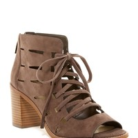 Vince Camuto | Tressa Perforated Leather Block Heel Sandal | Nordstrom Rack
