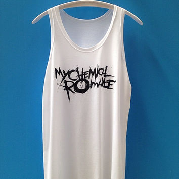 My chemical romance shirt Music Rock Tunic Shirt T Shirt T-Shirt TShirt Tee Shirt - Size M