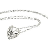 Stolen Girlfriends Club Fossil Heart Pendant Silver One