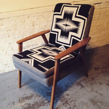 Pendleton Mid Century Danish Lounge Chair
