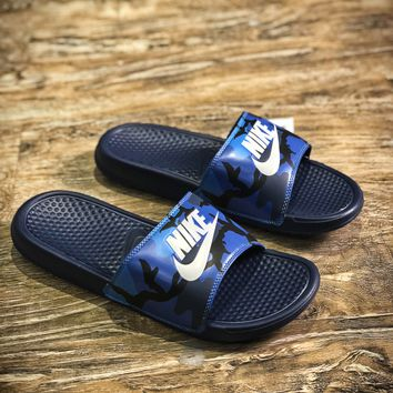 Nike Benassi Swoosh Sandals Style #13 Slippers - Best Online Sale