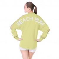 Beach Bum - {Slash Sleeve} Spirit Football Jersey®