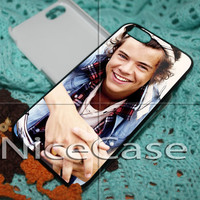 Harry Styles Bandana One Direction for iPhone 4 / 4S / 5 / 5c / 5s Case Samsung Galaxy S3 / S4 Case Cover