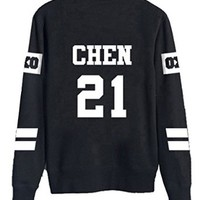 Dolpind EXO Sweater Long Sleeve Hoody Pullover Sweatershirt