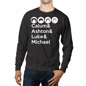 5 Seconds Of Summer Member Silhouette Calm Unisex Sweaters - 54R Sweater