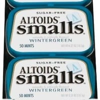 Altoids Smalls Sugar Free Wintergreen Mints, 0.37-Ounce Tins (Pack of 9)