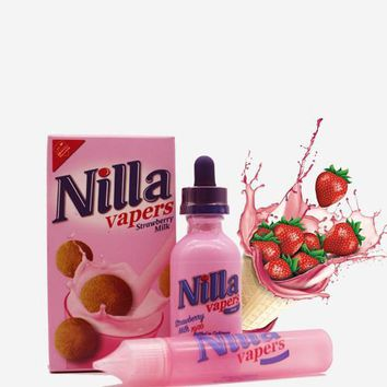 Strawberry Milk - Nilla Vapers E Liquid
