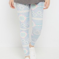 Pastel Aztec Soft Brushed Legging | Leggings | rue21