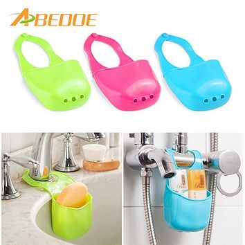 ABEDOE Eco-Friendly Creative Cleaning Filter Water Sink Hanging Basket Storage Laundry Baskets Hang Bag For Bathroom Kitchen