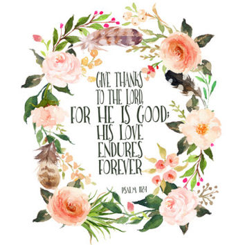 Psalm 118 1 Wreath