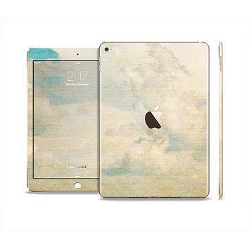 The Grunge Cloudy Scene Skin Set for the Apple iPad Air 2