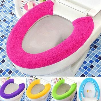 Warm Soft Toilet Cover Seat Lid Pad Overco