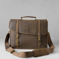 Packhorse Leather Briefcase | Eddie Bauer
