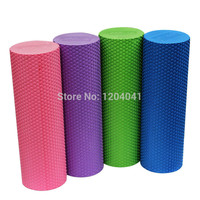 High Density Floating Point Fitness EVA Yoga Foam Roller for Physio Massage Pilates