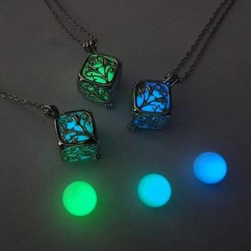 Luminous Heart Necklace