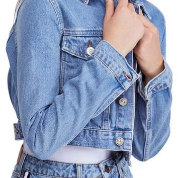 BDG Urban Outfitters '90s Crop Denim Jacket | Nordstrom