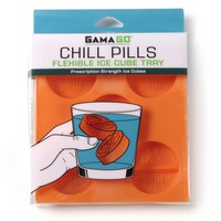 Chill Pills Novelty Ice Cube Tray Medicine Themed Kitchen Accessory