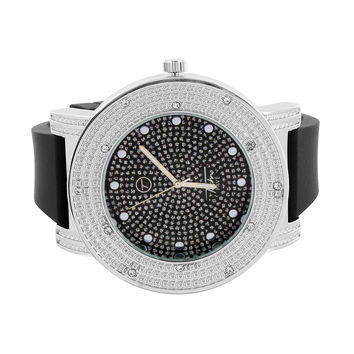 Iced Out Dial Designer Techno Pave Watch