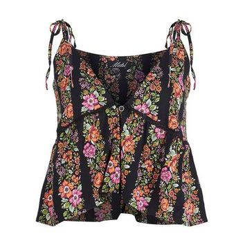 **Mios Plunge Top by MOTEL - Tops - Clothing