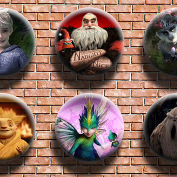 Rise of the Guardians 1.25 Inch Button Six Pack