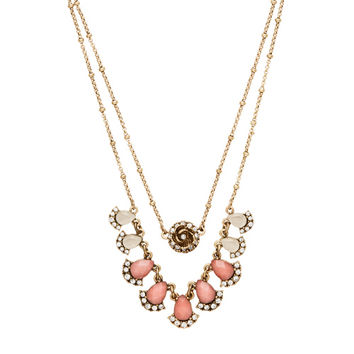 Sunset Vista Two-Row Convertible Necklace