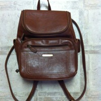 Mini backpack [medium brown] from Live Harmlessly