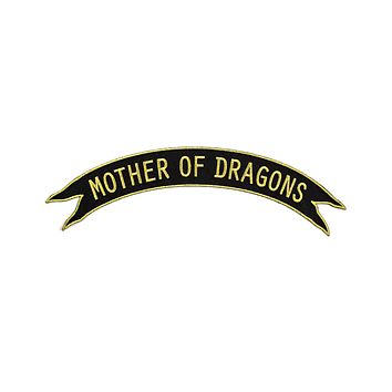 Mother Of Dragons Large Back Patch